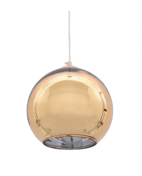 NOWOCZESNA LAMPA WISZĄCA ZŁOTA LOBOS D30