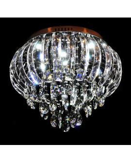 LAMPA SUFITOWA Z KRYSZTAŁAMI MILORD