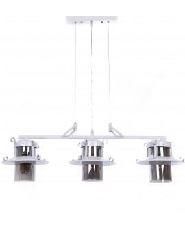 LAMPA WISZĄCA CAPRI TRIO WHITE