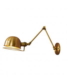 LAMPA ŚCIENNA KINKIET LOFTOWY MOSIĘŻNY GLUM W2