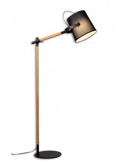 LAMPA STOJĄCA PODŁOGOWA LAPIDUS BLACK