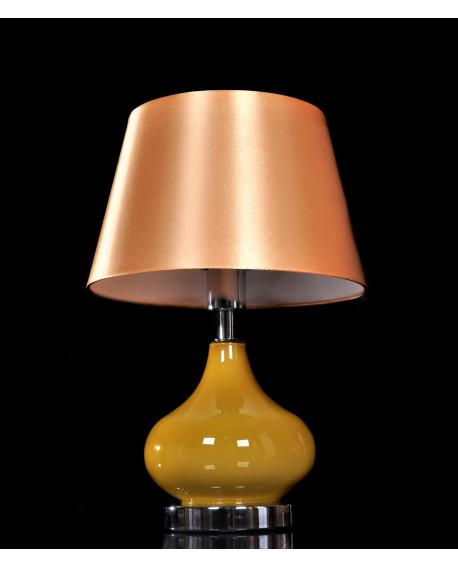NOWOCZESNA LAMPA NOCNA ZŁOTA 3023