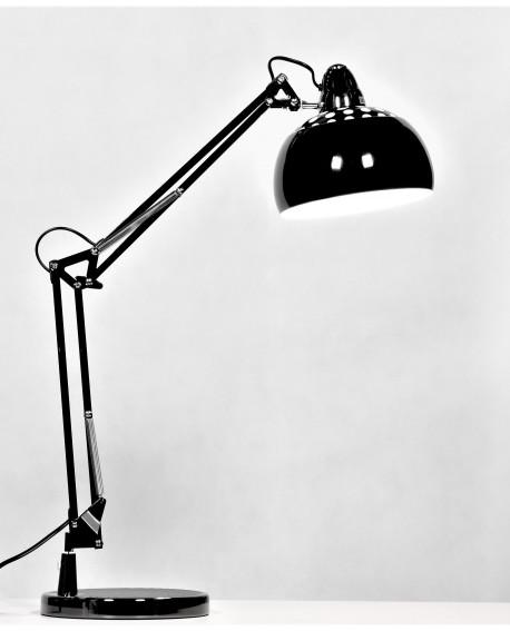 LAMPA BIURKOWA CZARNA RIGORRIA