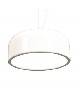 NOWOCZESNA LAMPA WISZĄCA BIAŁA SCUDO D35