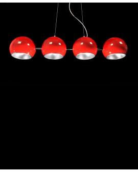 LAMPA WISZĄCA AURORA W4 RED