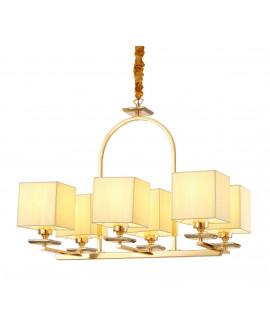 LAMPA WISZĄCA ZŁOTA LINIANO W6