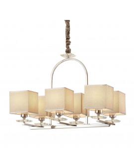 LAMPA WISZĄCA LINIANO W6 CHROM