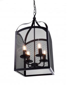 LAMPA WISZĄCA 040-L CZARNA