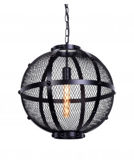 LAMPA WISZĄCA CZARNA CAVARO W1