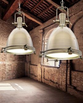 LAMPA WISZĄCA LOFT MOSIĘŻNA ALCANTARE