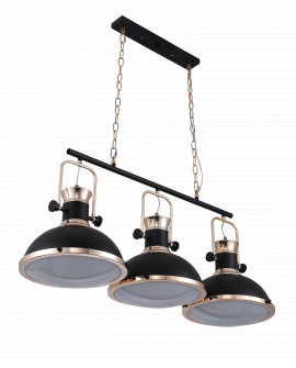 LOFT LAMPA WISZĄCA BATORE W3 BLACK