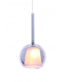 NOWOCZESNA LAMPA WISZĄCA PRIOLA SILVER