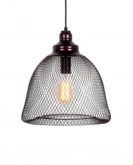 LAMPA WISZĄCA BRĄZOWA HILSTON