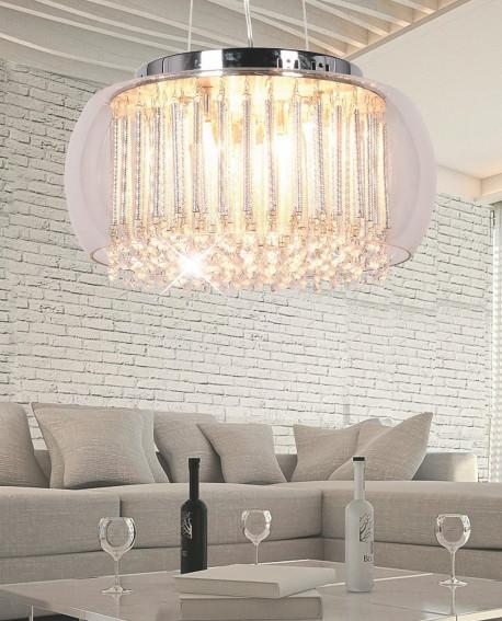LAMPA WISZĄCA NOWOCZESNA GUSTO D50 CLEAR