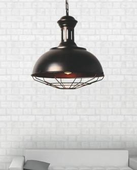 LOFT INDUSTRIALNA LAMPA BOCCATO OLD BRASS