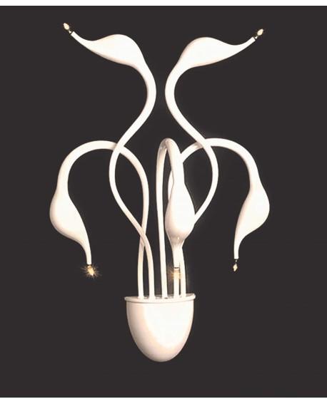 LAMPA ŚCIENNA KINKIET NOWOCZESNY MAGICA WHITE W5