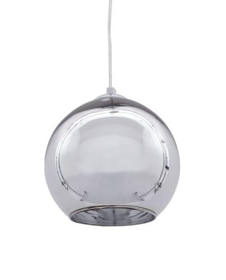 NOWOCZESNA LAMPA WISZĄCA CHROMOWANA LOBOS D30
