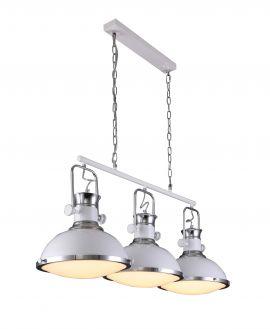 LAMPA WISZĄCA POTRÓJNA LOFT BIAŁA BATORE W3