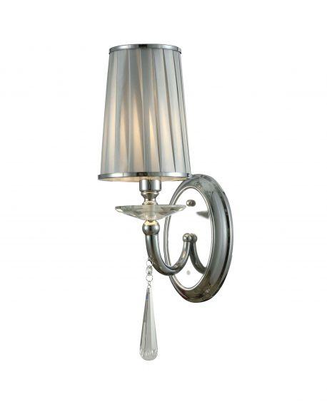 LAMPA ŚCIENNA KINKIET CHROMOWANY FABIONE W1