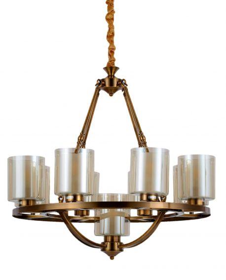 LAMPA WISZĄCA LOFT MOSIĘŻNA SANTINI W9