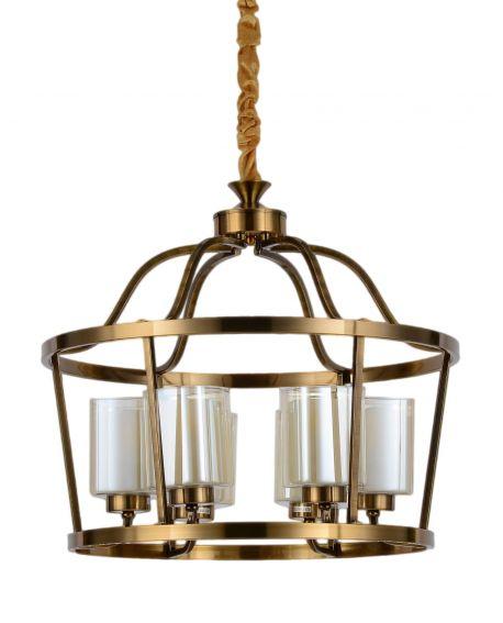 LAMPA WISZĄCA LOFT MOSIĘŻNA ATLANTA W6