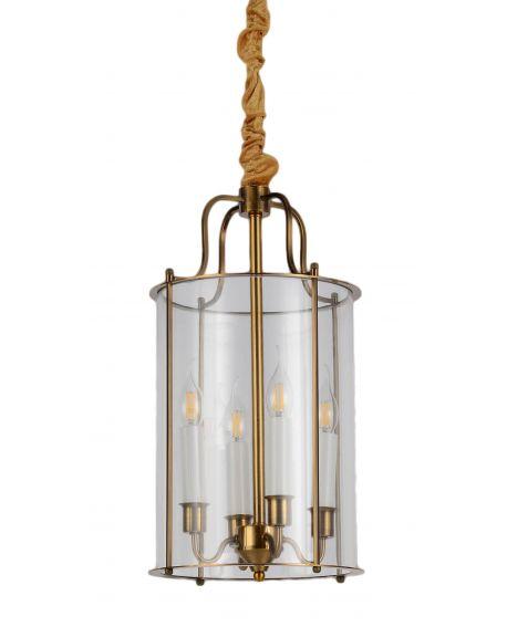 LAMPA WISZĄCA LOFT MOSIĘŻNA MICONOS W4