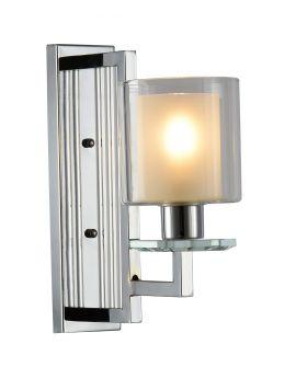 LAMPA ŚCIENNA KINKIET CHROMOWANY MANHATTAN W1