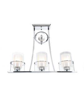LAMPA SUFITOWA ART DECO CHROMOWANA BRONX W3