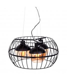 LOFT LAMPA WISZĄCA OPTIS BLACK