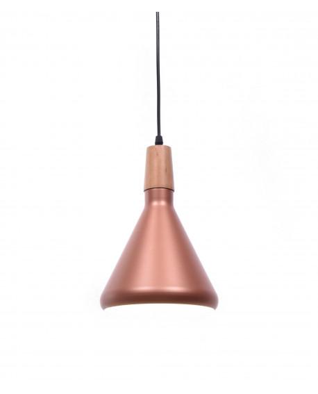 NOWOCZESNA LAMPA WISZĄCA SKANDYNAWSKA ZWIS RÓŻOWE ZŁOTO BAFIDO A1