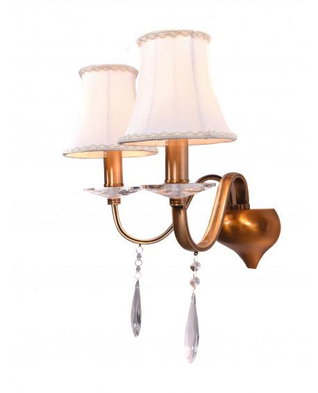 LAMPA ŚCIENNA KINKIET KRYSZTAŁOWY RIFOSSA W2