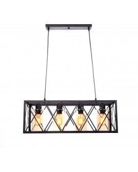NOWOCZESNA LAMPA WISZĄCA LOFT NORTIS BLACK