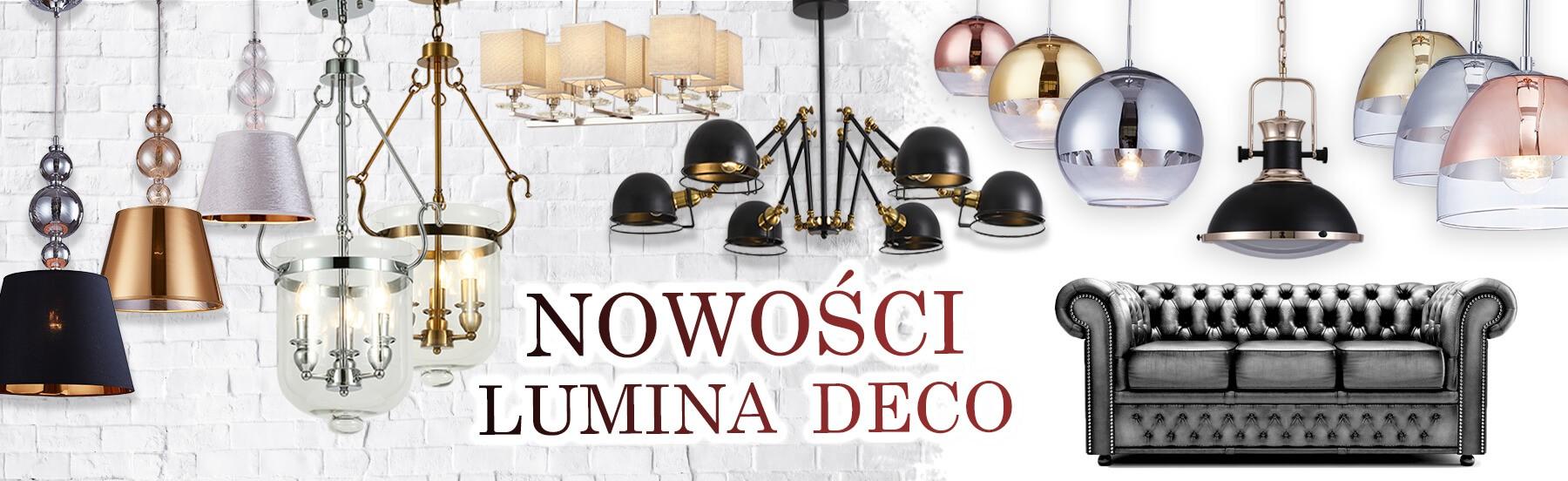 Nowa kolekcja lamp i oświetlenia Lumina Deco